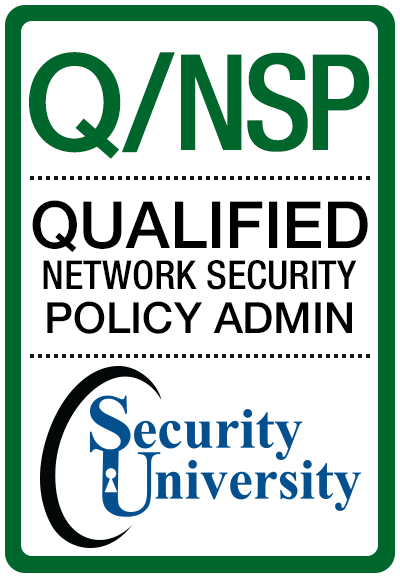 Q/NSP Qualified Security Policy Administrator